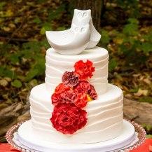 Pareja de Buhos Porcelana Cake topper