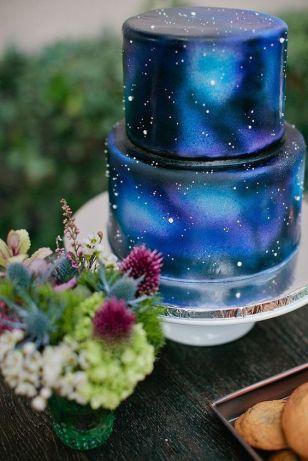 Galaxia cake