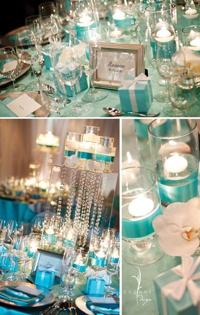 Como planear tu fiesta tiffany co ideas fiesta de - Como planear una boda ...