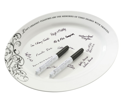 Alternativa Plato para Firma de Invitados