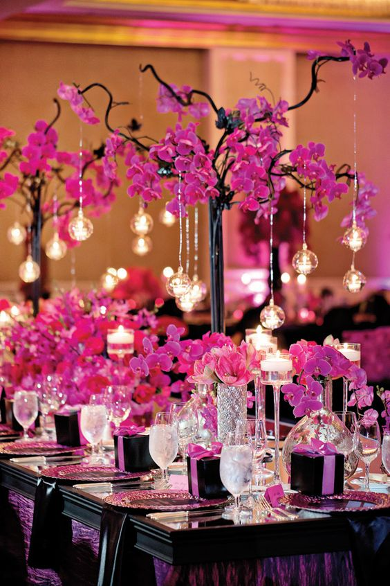 fushia decor