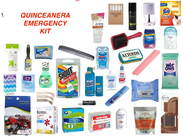 quinceanera-emergency-survival-kit