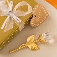 Elegante rosa de Cristal Gold- Joyfullcelebrations.com