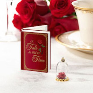 Fairy tale red rose Favor