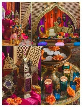 aladin party decor