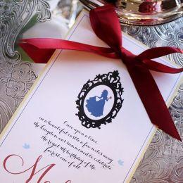 snowwhite invitation