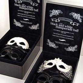 mascarade invitacion