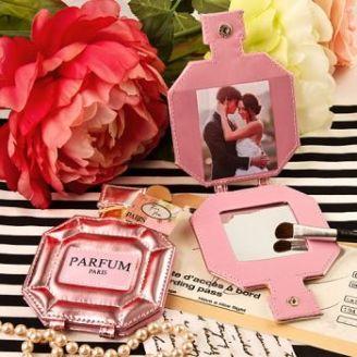 Pink Perfume Espejo Compacto