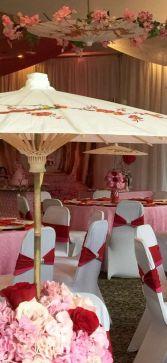 mulan party centros de mesa