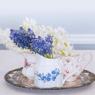 Victorian vases Decorativas