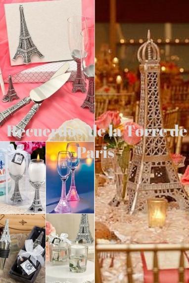Recuerdos de la Torre de Paris